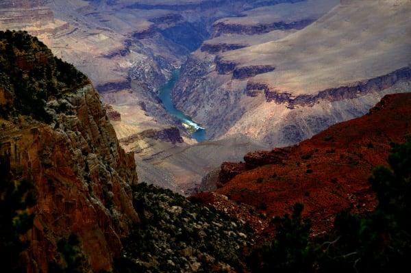 Grand Canyon Rim 4 Art | DocSaundersPhotography