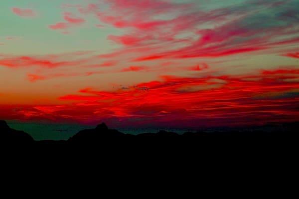 Sunset Hopi Point Art | DocSaundersPhotography