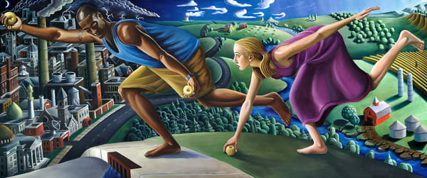 Race For Atalanta Art | David Spear