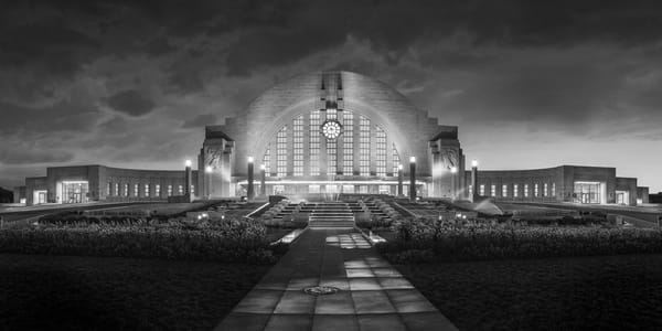 Union Terminal B&W Photography Art | Studio 221 Photography