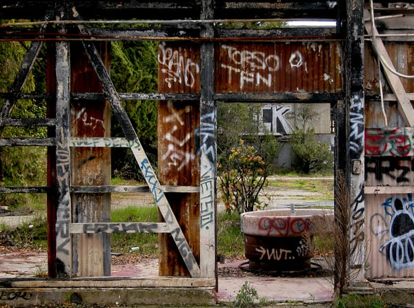 Rusted Nature Alameda Photography Art | Xan Blood Walker Fine Art Photography