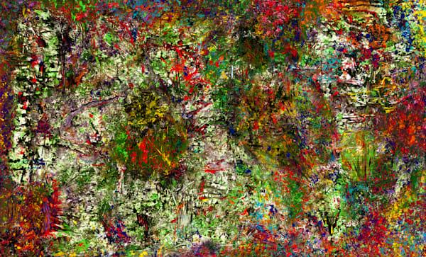 Mystery Forest   Abstract Art   JD Shultz Art
