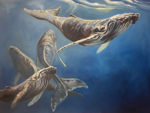 Lahaina Art Gallery features wildlife Artist Kindrie Groves
