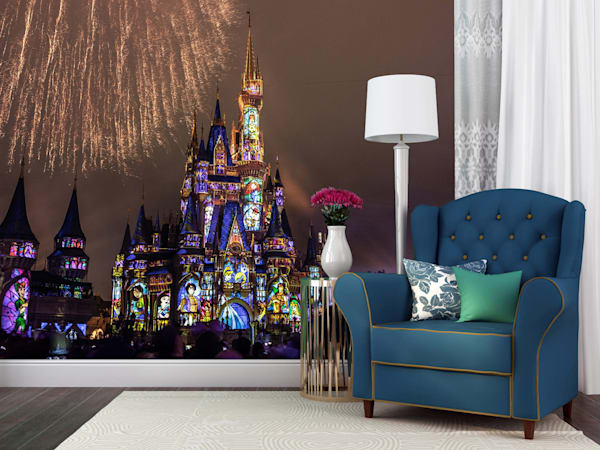 Happily Ever After Go the Distance - Disney Castle Wall Murals