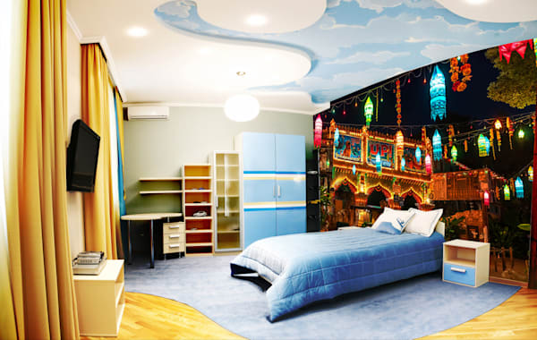 Up! at Night - Disney Wall Murals | William Drew