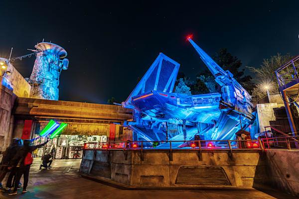 Honoring the Tie Fighter - Star Wars Disneyland Pictures