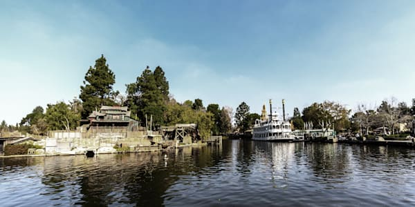 Pirates Lair And Mark Twain Riverboat Photography Art | William Drew Photography