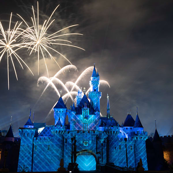 Mickey S Mix Magic With Fireworks Frozen Photography Art | William Drew Photography
