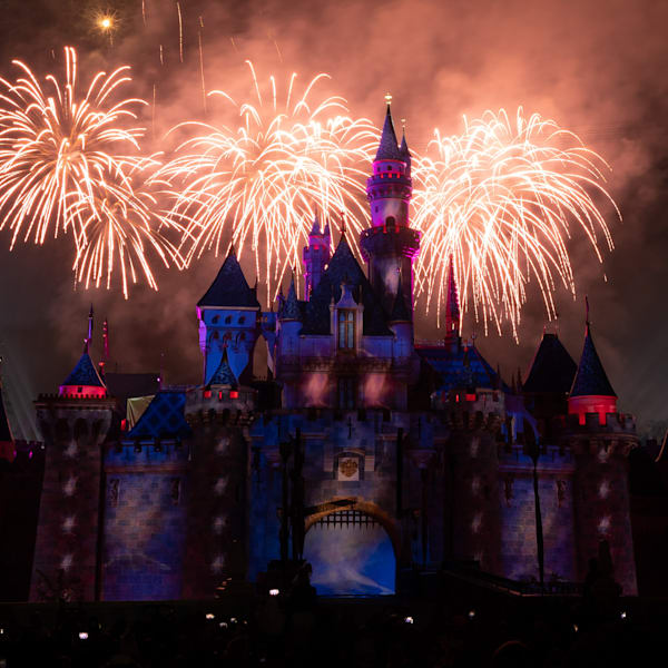 Mickey S Mix Magic With Fireworks Spectacular Photography Art | William Drew Photography