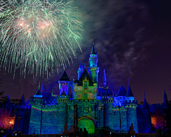 Mickey S Mix Magic With Fireworks Photograph Photography Art | William Drew Photography