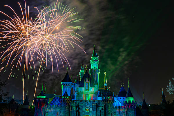 Mickey S Mix Magic With Green Lasers Photography Art | William Drew Photography
