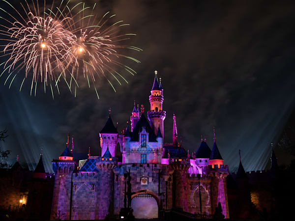 Mickey S Mix Magic With Fireworks After Aladdin Photography Art | William Drew Photography