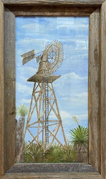 CPerkins-Windmill-original-framed