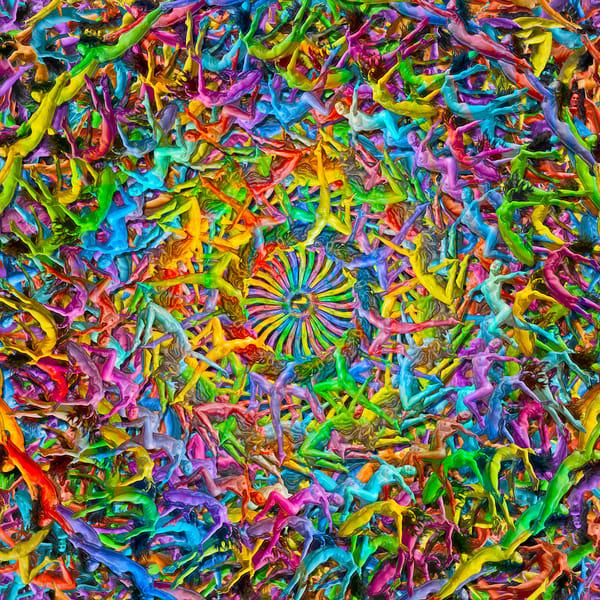 I Love Candy Art   geometricphotographica