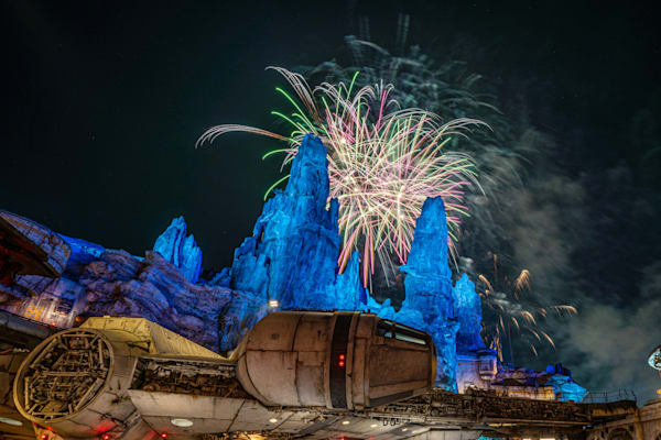 Smugglers Run Fireworks Photography Art | William Drew Photography