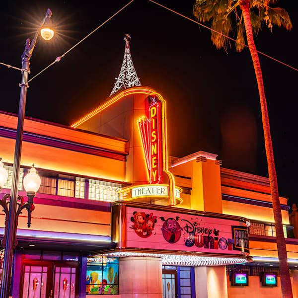 Disney Theater At California Adventure Photography Art | William Drew Photography