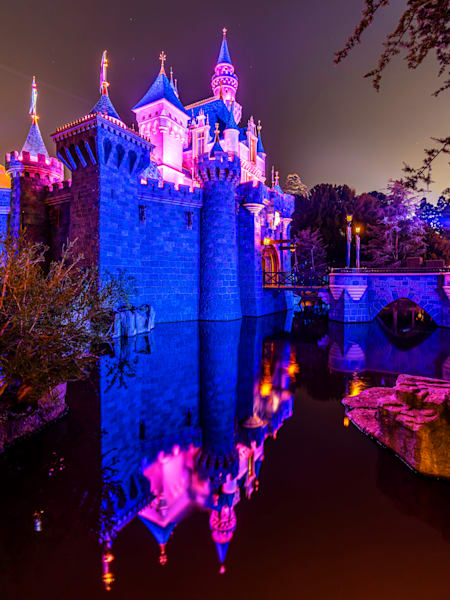 Reflections Of Sleeping Beautys Castle Photography Art | William Drew Photography