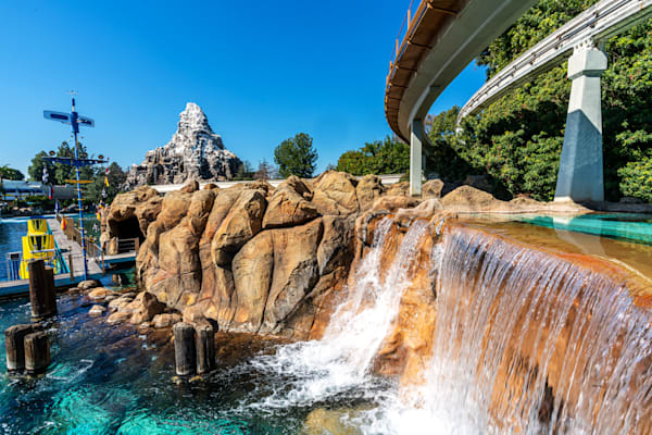 Tomorrowland Waterfall Photography Art | William Drew Photography