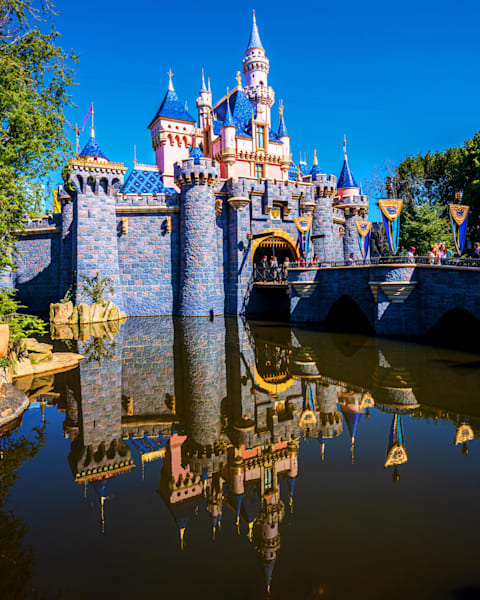 Sleeping Beauty Castle In California Photography Art | William Drew Photography