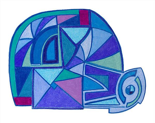 """Snail"" fine art print by Ann Kralapp."