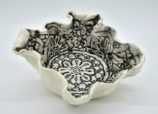 BHirsh - Black & White Square Bowl