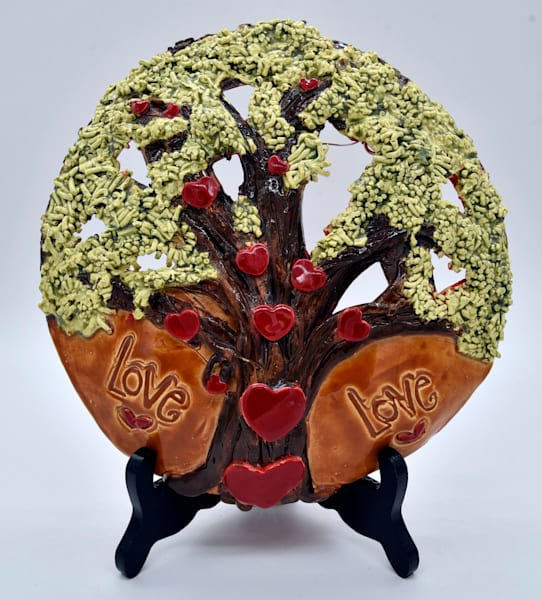 B Hirsh   Love Tree   Sold | Branson West Art Gallery - Mary Phillip