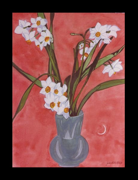 """Watercolor  Gallery """"Potteries Collection"""""""