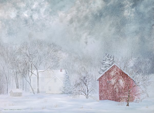 Winter's Last Breath  Art   The Huntington Studio