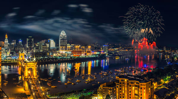 Fireworks From The Ascent Photography Art | Studio 221 Photography