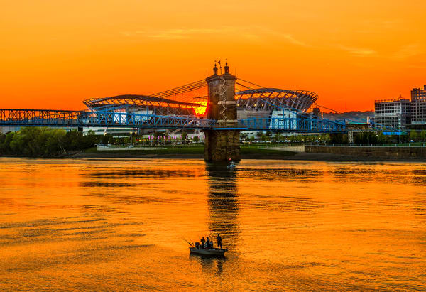 Bengals Sunset Photography Art | Studio 221 Photography