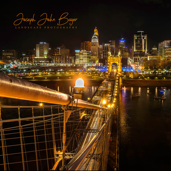 Down The Roebling Cable Photography Art | Studio 221 Photography