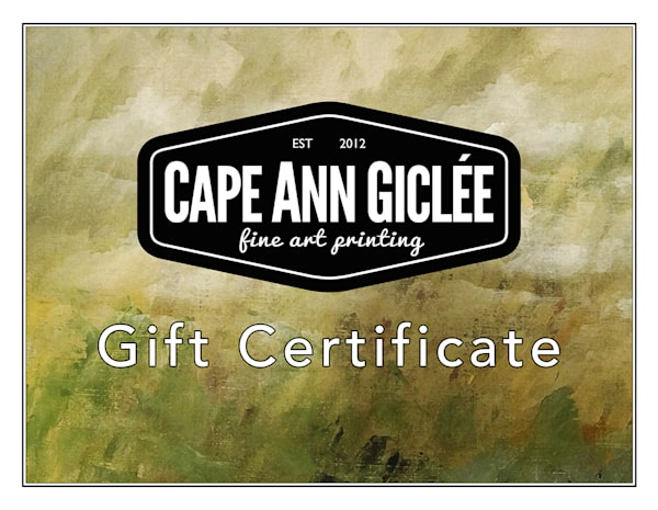 Gift Certificate $100.00 | capeanngiclee