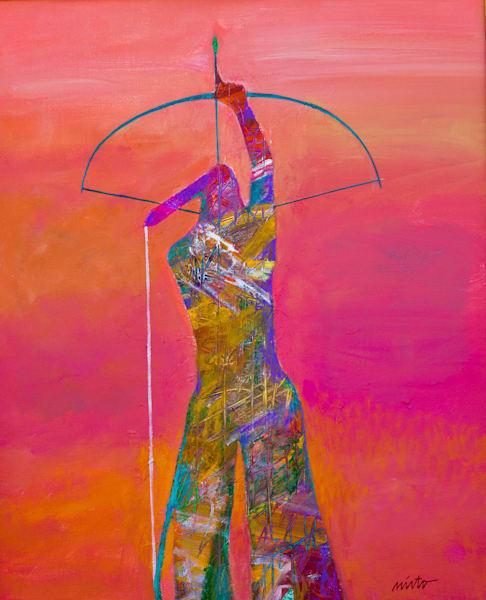 Archer II | John Nieto Original Painting