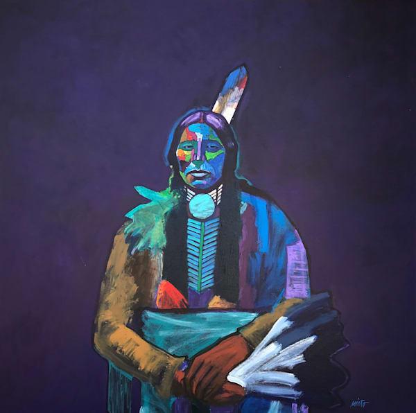 Quanah Parker   John Nieto Original Painting
