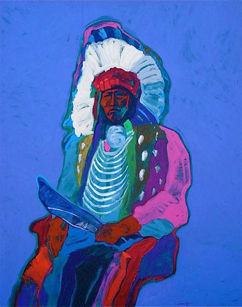 Wild Horse   John Nieto Original Painting