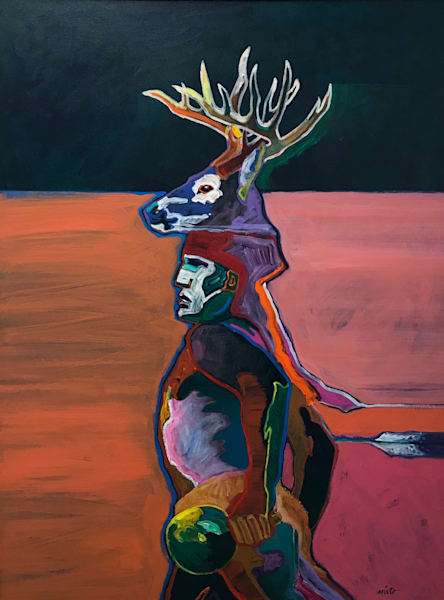 Deer Dancer | John Nieto Original Painting