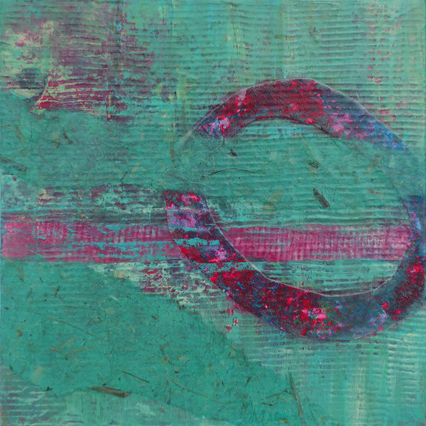 Tracing the Moon - Original Abstract Painting | Cynthia Coldren Fine Art