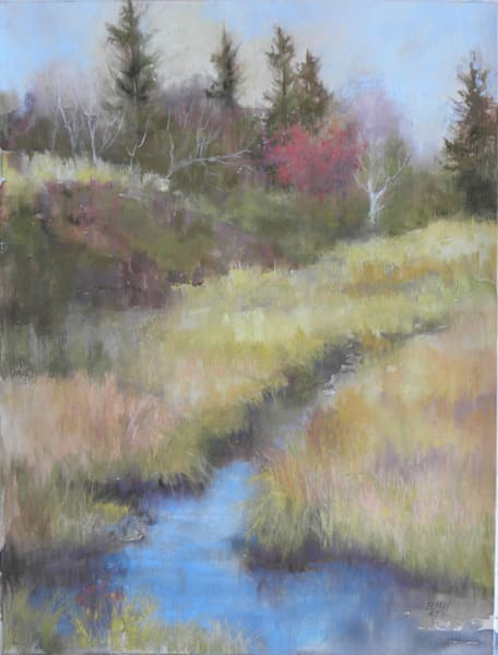 Mainestream I, From an Original Oil Painting