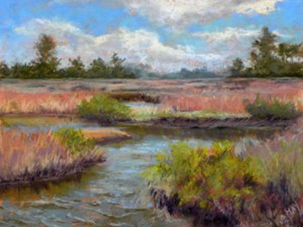 Cedar Key Summer, From an Original Oil Painting