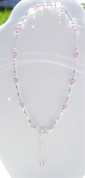 K Thierstein   Dainty Swarovski Crystal Anklet | Branson West Art Gallery - Mary Phillip
