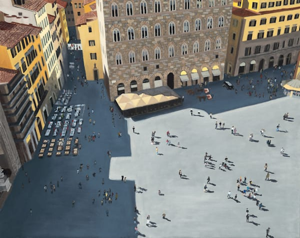 Piazza Della Signoria, Florence Art | Brendan Kramp Studio & Workshop