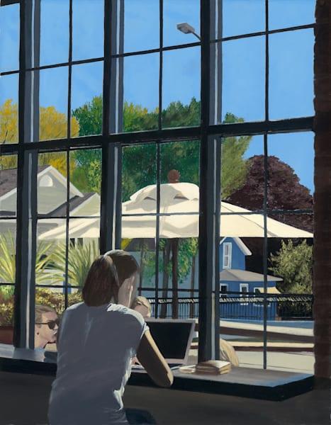 Woman Before Summer Window Art | Brendan Kramp Studio & Workshop