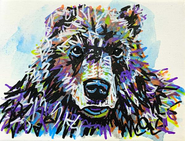Bartosz The Bear Art by Kristyn Watterworth