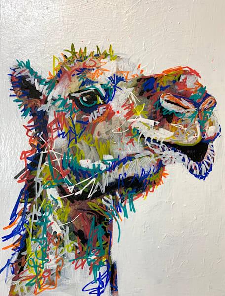 Carl The Camel Art | Kristyn Watterworth