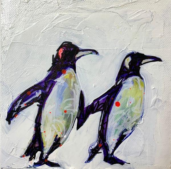 Pippanos The Penguin Art by Kristyn Watterworth