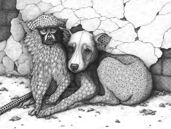 "Xarit Art | Kristin Moger ""Seriously Fun Art"""