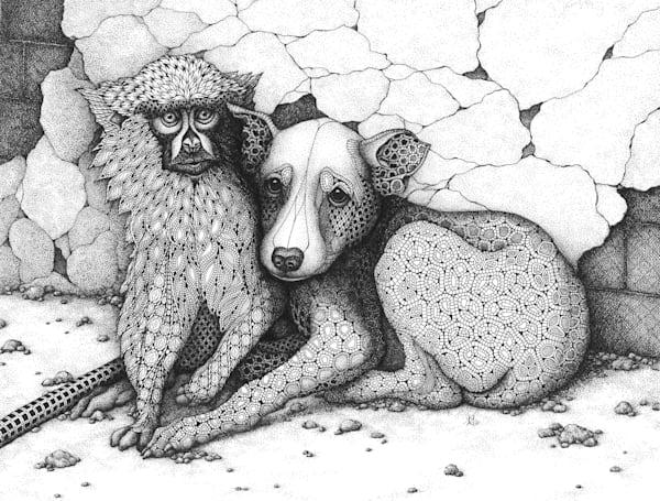 "Xarit | Kristin Moger ""Seriously Fun Art"""