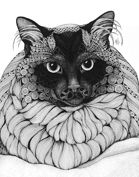 "Mystique by Kristin Moger ""Seriously Fun Art"""