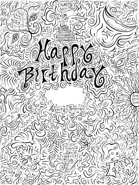 Happy Birthday Art | COLORME Art Spa