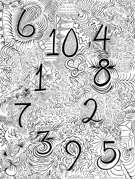 Count With Me Art | COLORME Art Spa